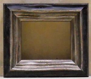 ミニ額E-34129ブラック 額縁寸法55mm×46mm 窓枠寸法43mm×34mm壁掛け用/箱なし