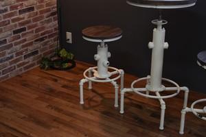 Smoky Bar Chair WH / ヴィンテージスタイル スモーキー バーチェア / ホワイト