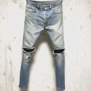 Levi's 501 crash&riri zip custom w32
