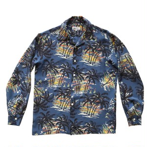 Hula girl of Sun set  / long sleeve