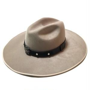 Renegade Headwear Vintage Longbrim Beaver Hat Beige Deadstock 7 1/8