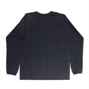 Good On グッドオン L/S POCKET CREW TEE GOLT1306P P-BLACK ブラック ロングスリーブポケットクルーTシャツ ロンT カットソー COTTONUSA