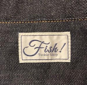 Fish!オリジナル デニムトートバッグ