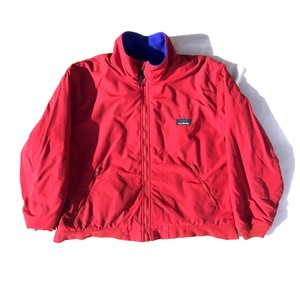 USED L.L. Bean warm up jacket - red