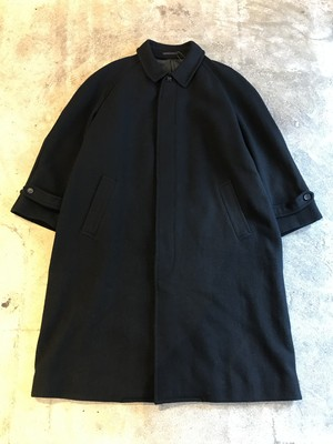 【used】COMME des GARCONS HOMME 80s〜90s wool coat コムデギャルソン ウール 比翼コート