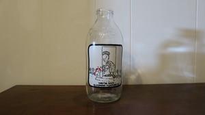 ヴィンテージ ミルクボトル #02:イギリス