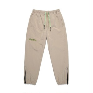 ZIP TRACK PANTS / BEIGE