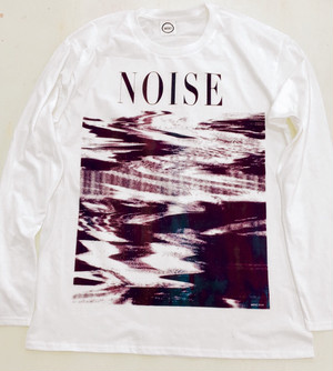 """NOISE"" Long sleeve T-shirt (MERZ-0141)"