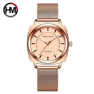 女性の時計日本のクォーツファッションinsstlye腕時計高級女性のドレス防水RelogioFemininoドロップシッピング106WF2