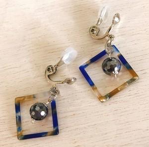 キラキラテラヘルツのイヤリング