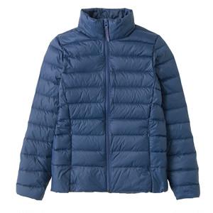 軽量ダウンジャケット (ブルー) 3026019