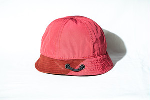 FUNCTIONAL CAMP CREW(メトロ)HAT / RED