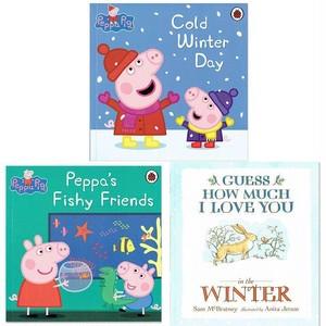 「ペッパピッグと冬のおはなし」3冊セット