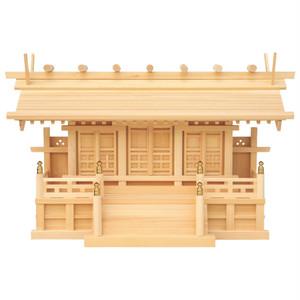 鹿屋根三社(木曽ひのき)P09-621