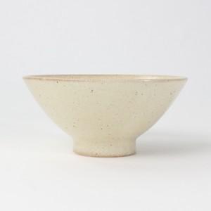 【SL-0099】磁器 12.5cm  ごはん茶碗 ベージュ