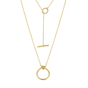 2way knot necklace
