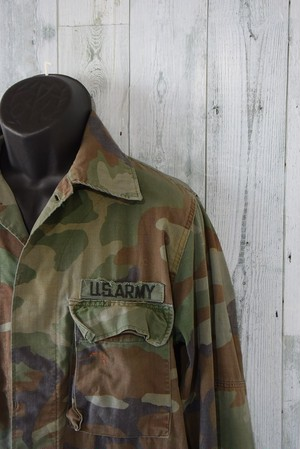 90's  ミリタリーBDUジャケット(XSMALL?)米軍放出品 RankC