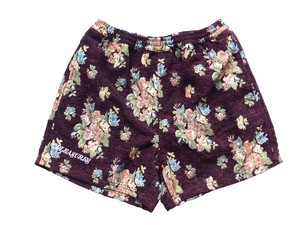 DEJAVU WOVEN FLORAL SHORT PANTS / PLEASURES