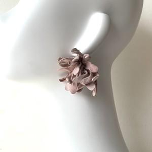 plants ピアス・イヤリング〈old pink〉