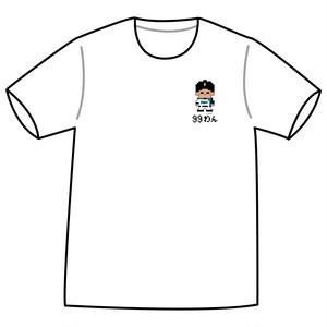 ドットファイターズ 「わん」 Tシャツ ホワイト