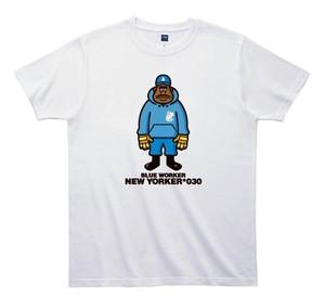 《山本周司Tシャツ》TY030/  BLUE WORKER