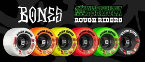 BONES ATF Rough Riders Shotgun 56mm Skateboard Wheel ソフトウィール