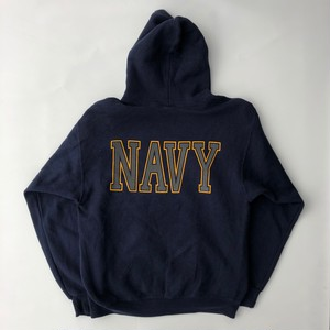 80~90's US NAVY SWEAT PARKA ビッグロゴ