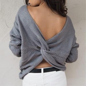 Cross Knit《GRAY》