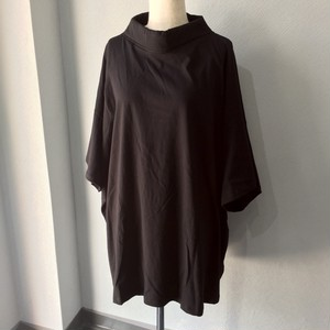 RECTANGLE COLLAR JERSEY T-SHIRT【FRANCOISE】