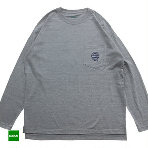 SAIKICKS RIBBON POCKET L/S TSH
