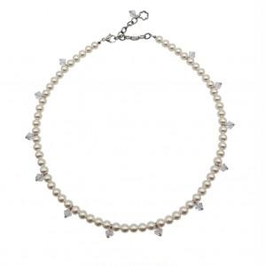 ネックレス パール クリスタル KRiKOR ドイツ製 Necklace Pearl Crystal
