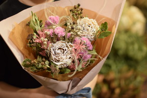 【デザートピオニー】 ドライフラワー花束