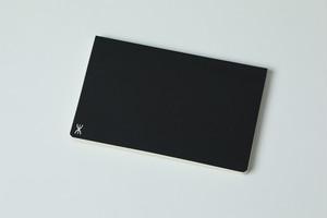 新しい「超」結果手帳 黒(クロス張り)