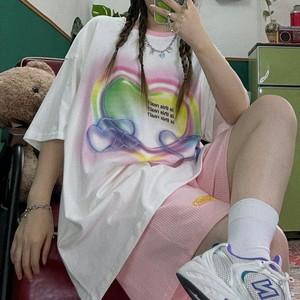 クリスタルハートTシャツ(全3色) / HWG448