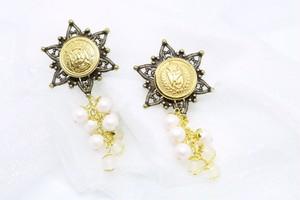 earring ヒカリの房飾り
