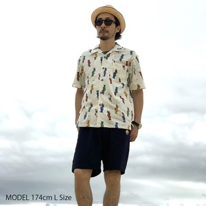 "Open Coller Shirt ""LAS CUBANAS"" 6月末発送予定"