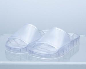 """PVC shower sandals """"crystal""""【お買い上げ金額 ¥10,000以上で送料無料】"""