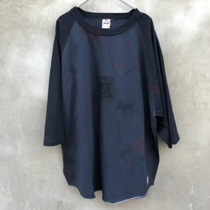 "HOMELESS TAILOR  ""virus raglan T-sh"""
