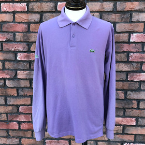 Lacoste Long Sleeve 75th Anniversary Polo Shirt Size-6