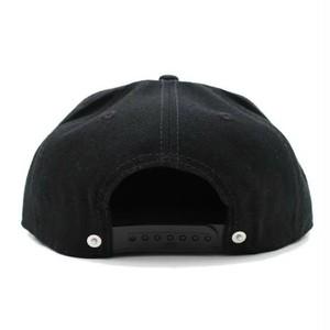 LETTER SNAPBACK CAP #RED