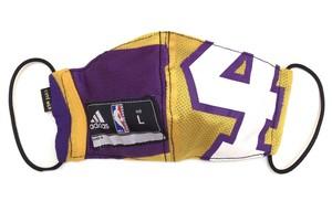 【デザイナーズマスク 吸水速乾COOLMAX使用 日本製】NBA LAKERS champion SPORTS MASK CTMR 0227016