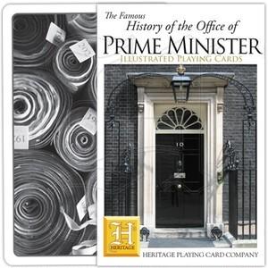 トランプ【英国の総理大臣】Heritage Playing Card Company 90023-DD