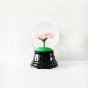 ピンクのバラ スノードーム PERZY社 M