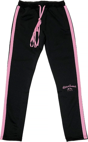 GIRLS SLIM FIT SIDELINE JERSEY PANTS