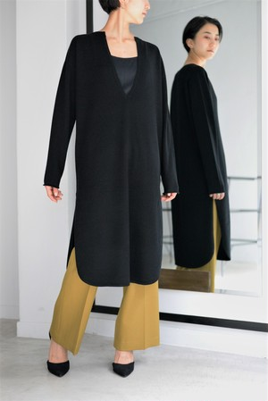 ROOM211 / Kaftan Knit PO (black)