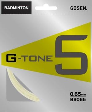 【バドミントンストリング】ゴーセン G-TONE5
