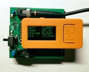 M5StickC 用補助電池基板- JACK-M5STICKCA4