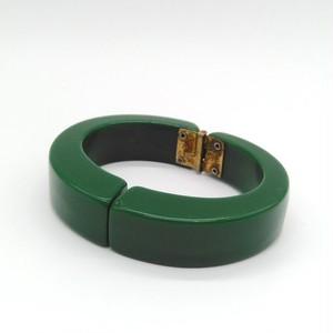 BAKELITE ベークライト グリーン clamper bracelet