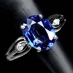 綺麗な2.2ct! サファイア リング 指輪 12号 アフリカ産