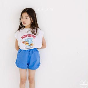 «sold out» LALA LAND shark sleeveless 2colors サメノースリーブ